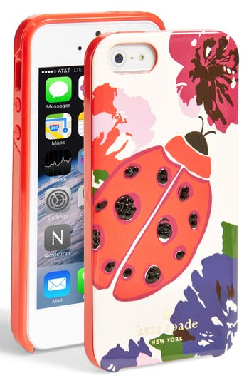 kate spade iphone 5 case kate spade new york ladybug iphone 5 amp 5s nordstrom 10284