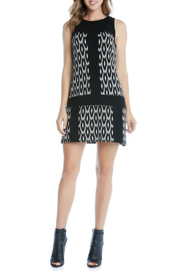 Karen Kane Go-Go Knit A-Line Dress