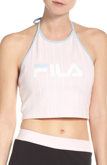 FILA Luann Crop Halter Top