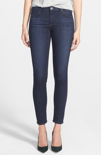 AG The Legging Ankle Super Skinny Jeans (Coal Grey)