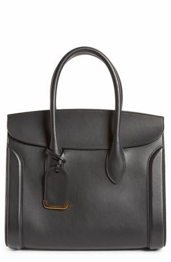 Alexander McQueen Large Heroine Calfskin Leather Shopper