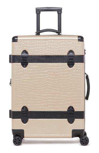 CALPAK Trunk 22-Inch Rolling Suitcase
