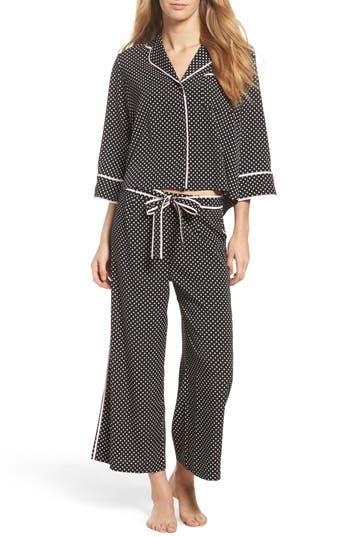 kate spade new york crop pajamas