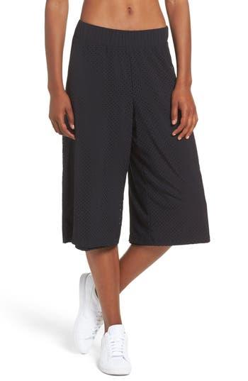 Zella Perforated Culottes