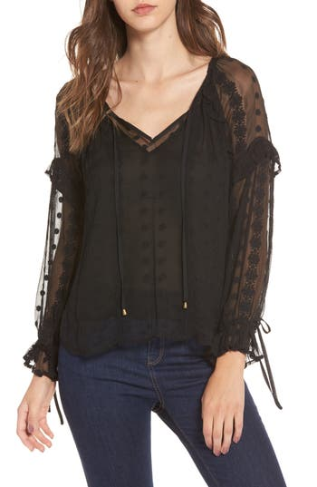 ASTR the Label Leigh Blouse