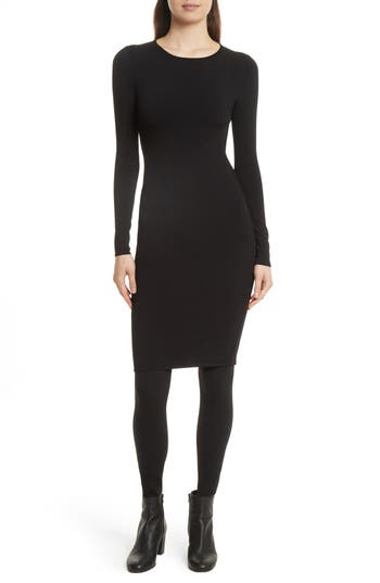 Vince Fitted Knit Dress