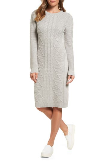 Barbour Emmanuel Cable Knit Sweater Dress
