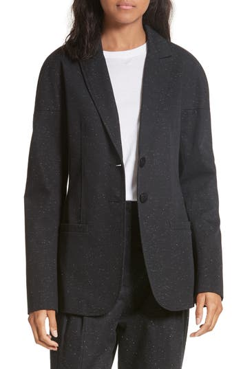 Tibi Luxe Tweed Blazer
