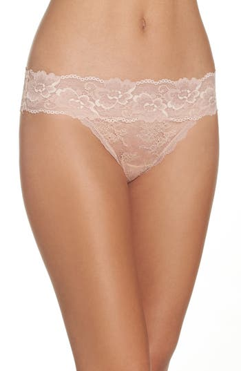 Honeydew Lace Thong (3 for $33)