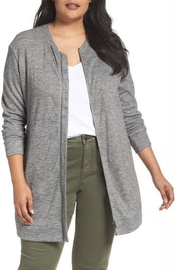 Sejour Cozy Zip Cardigan (..