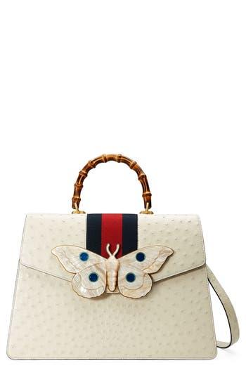 Gucci Falena Moth Ostrich ..