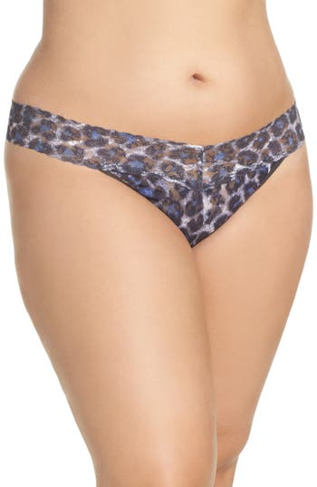 Hanky Panky Mysterious Feline Thong (Plus Size)