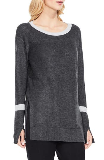 Vince Camuto Split Bell Sleeve Sweater