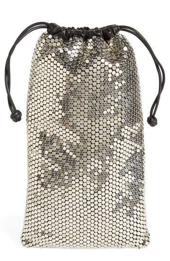 Alexander Wang Ryan Rhinestone Dustbag Pouch