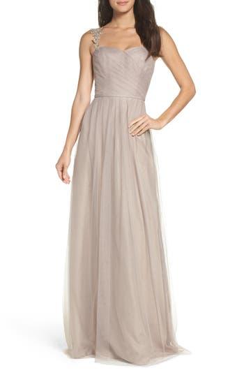 Monique Lhuillier Bridesmaids Violetta Tulle Gown