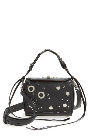Alexander McQueen Grommet Leather Box Bag