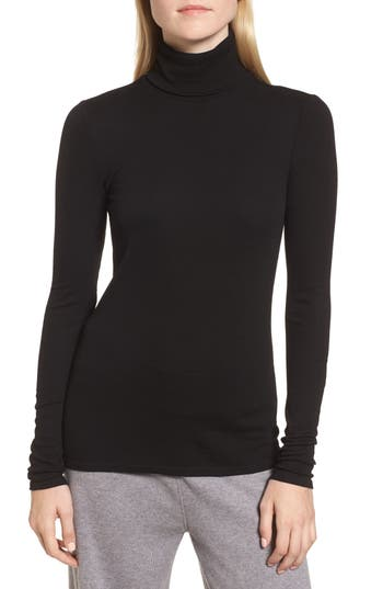 Nordstrom Signature Ribbed Stretch Turtleneck