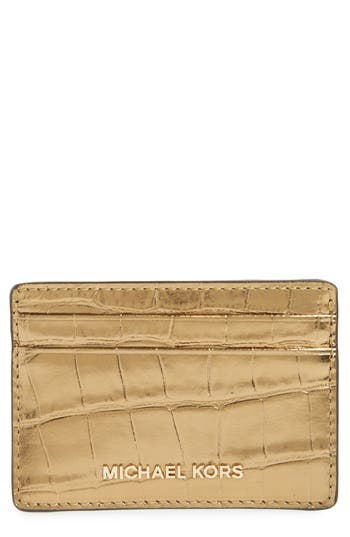 MICHAEL Michael Kors Money Pieces Card Case