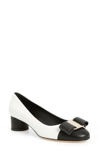 Ivrea Bow Pump by Salvatore Ferragamo