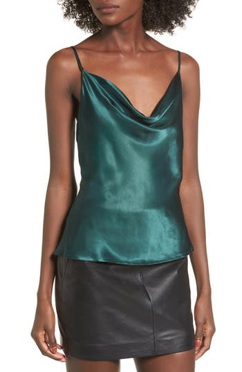 L'Academie The Cowl Camisole