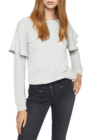 Sanctuary Dominique Metallic Sweatshirt (Regular & Petite)