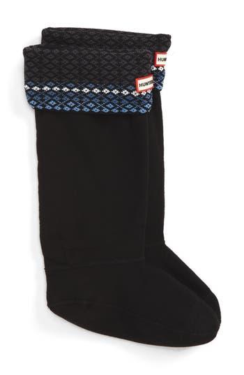Hunter Tall Fair Isle Boot..