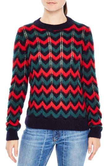 sandro Jessie Mohair Blend Sweater