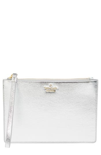 kate spade new york highland drive - yury faux leather zip pouch