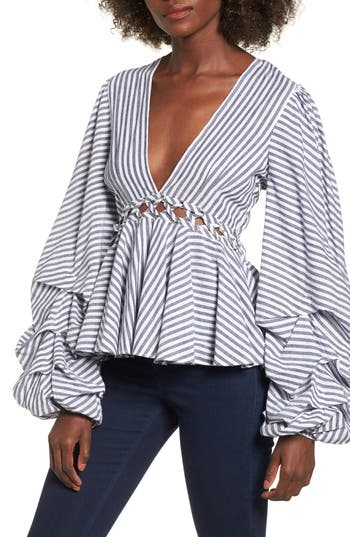 L'Academie Far From Home Blouse