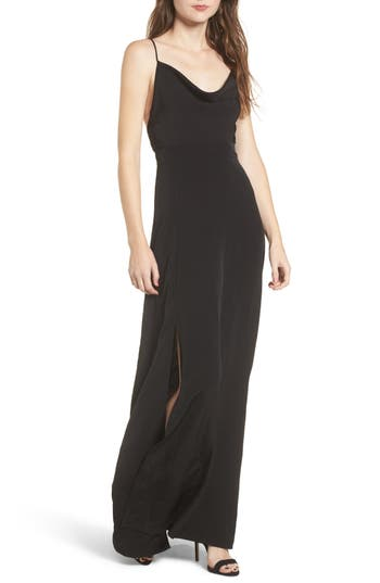 4si3nna Cowl Neck Maxi Dress Nordstrom