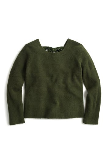 J.Crew Voletta V-Back Sweater