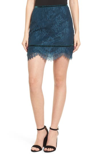 Lovers + Friends Sia Lace Skirt