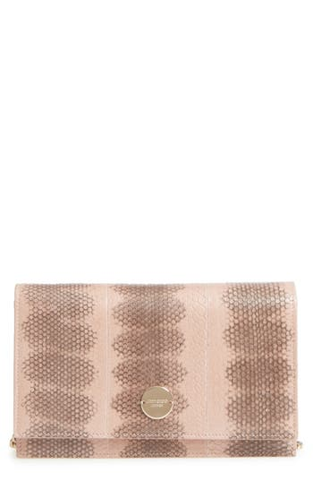 Florence Genuine Snakeskin Crossbody Bag by Jimmy Choo
