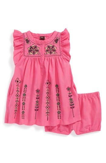 Tea Collection U0026#39;Malati Kanthau0026#39; Embroidered Dress U0026 Bloomers (Baby Girls) | Nordstrom