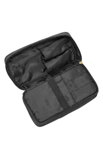 Canvas Travel Kit,                             Alternate thumbnail 3, color,                             Black