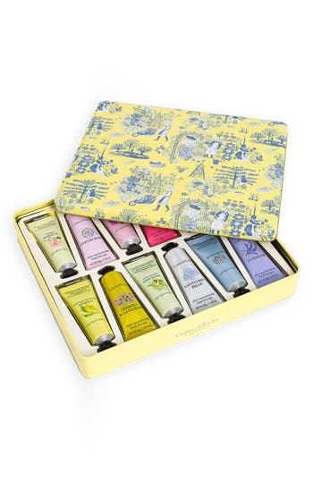 Alternate Image 2  - Crabtree & Evelyn Deluxe Hand Therapy Tin Set