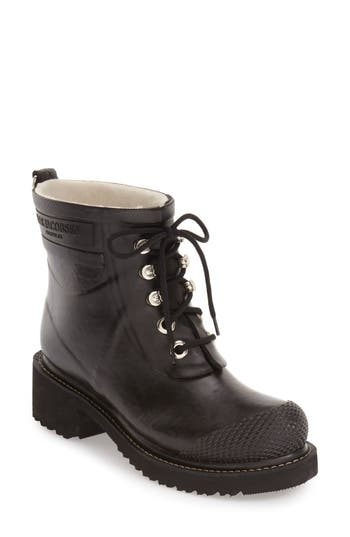 Ilse Jacobsen Waterproof Lace-Up Short Snow/Rain Boot (Women)