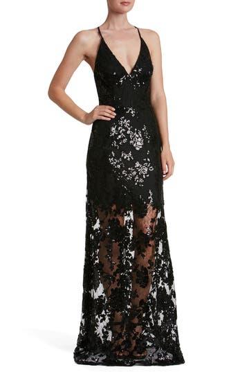 Dress The Population Vivienne Sequin Lace Gown Nordstrom