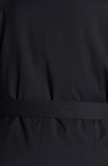 Alternate Image 3  - Kristen Blake Knit Collar Raincoat with Detachable Hood & Liner (Plus Size)