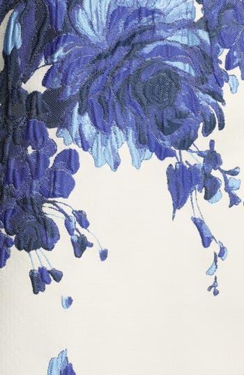 Alternate Image 3  - Valentino Long Sleeve Flared Skirt Dress