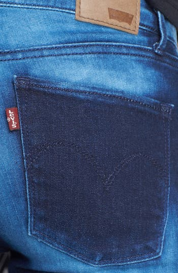 Alternate Image 3  - Levi's® 'The Legging East' Overdyed Skinny Jeans (Dark)