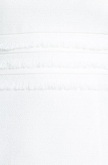 Alternate Image 3  - Tahari Jacquard Fringe Trim Sheath Dress