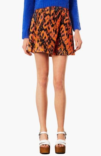 Main Image - Topshop Bouclé Round Skirt