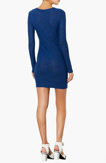 Alternate Image 2  - Topshop Textured Body-Con Dress