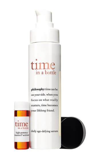 'time in a bottle' daily age-defying serum,                         Main,                         color, No Color