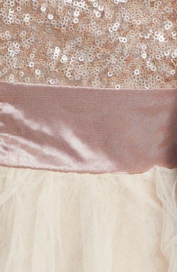 Alternate Image 3  - Trixxi Sequin & Tulle Party Dress (Juniors)