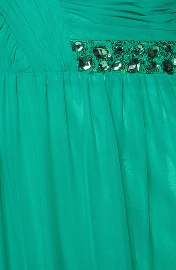 Alternate Image 3  - Hailey Logan Embellished Cutout Gown (Juniors)