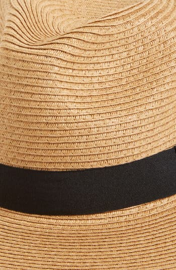 Alternate Image 2  - Leith Floppy Straw Hat