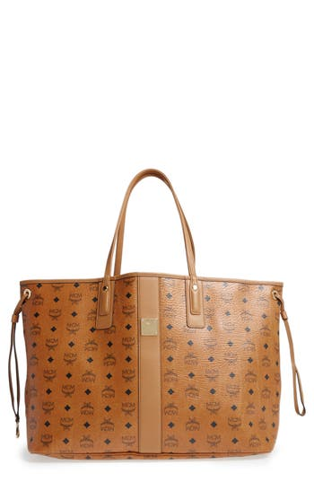 MCM 'Large Liz' Reversible Shopper