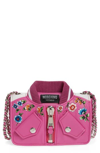 Moschino Embroidered Floral Bo..